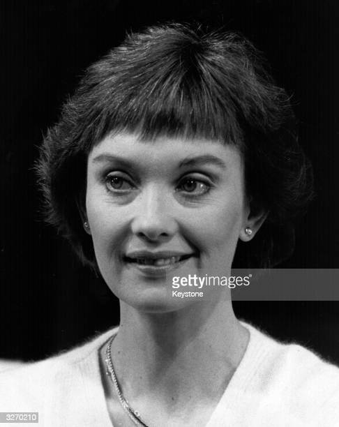 Actress Nicola Pagett in Harold Pinter's 'Old Times' in London.