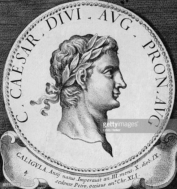 18th Century Engraving of Caligula