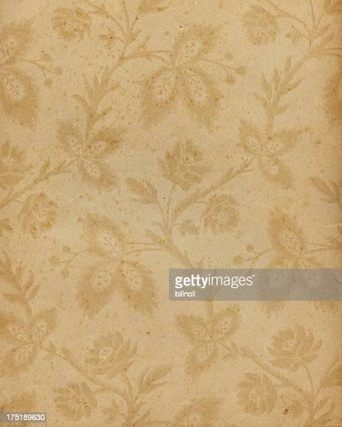 18th Century floral paper design