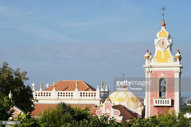 18th century palacio do visconde de estoi; estoi faro portugal - barock stock-fotos und bilder