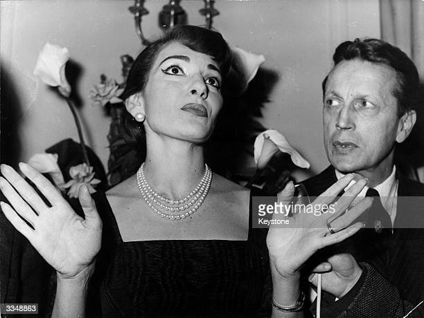 Greco American lyric soprano Maria Callas arrives in Paris for her first singing appearance in France, as the star of the Paris Opera. Monsieur...