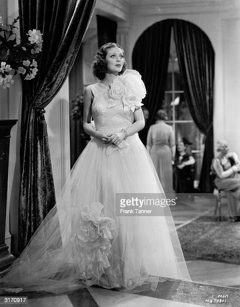 American actress Loretta Young stars as a servant girl made good in the 20th Century Fox drama 'Private Number', directed by Roy Del Ruth.