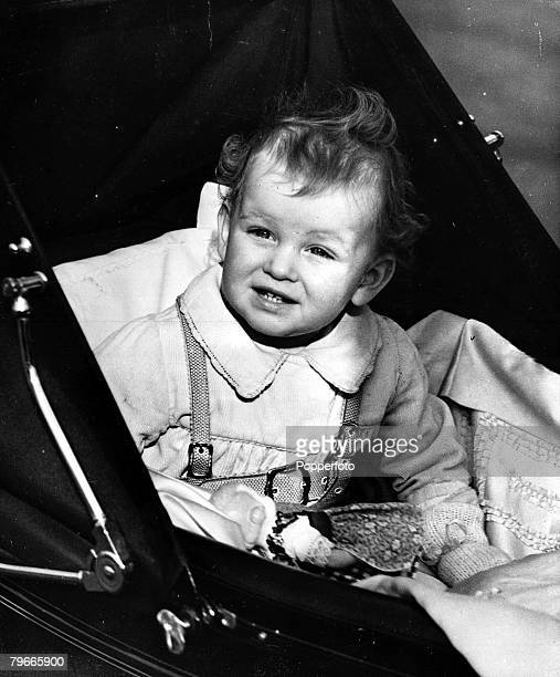 18th February 1938 Princess Alexandra daughter of the Duke and Duchess of Kent pictured in Londons Belgrave square