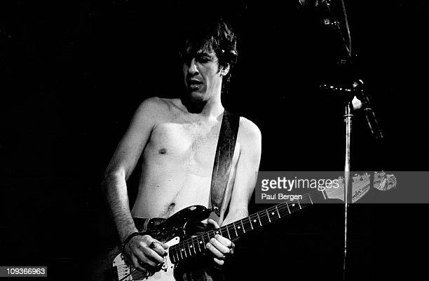 Guitarist Hillel Slovak from The Red Hot Chili Peppers performs live on stage at De Effenaar in Eindhoven Netherlands on 18th February 1988