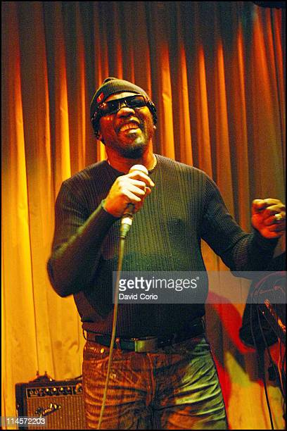 18th JANUARY: Toots Hibbert from Toots And The Maytals performs live on stage at the Canal Room on Canal Street in New York on 18th January 2007.