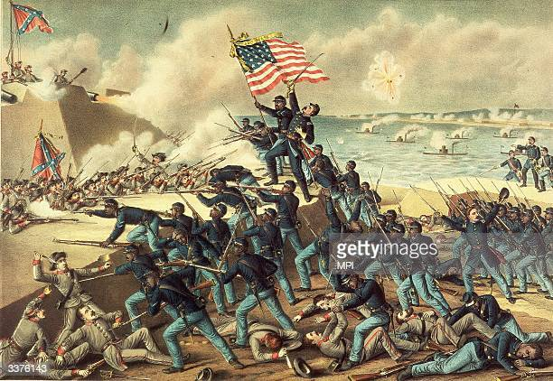 The storming of Fort Wagner during the American Civil War and the death of Colonel Robert Gould Shaw He led the 54th Massachusetts Volunteer Infantry...