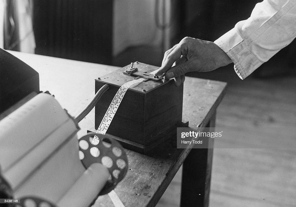 EDSAC Tape : News Photo