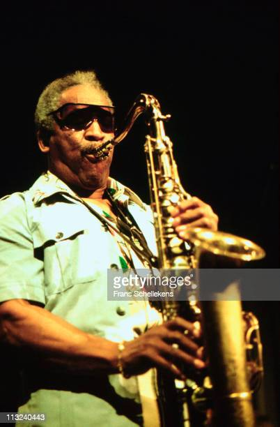 18th JUNE: Tenor sax player Von Freeman plays at the BIMhuis in Amsterdam, Netherlands on 18th June 1999.