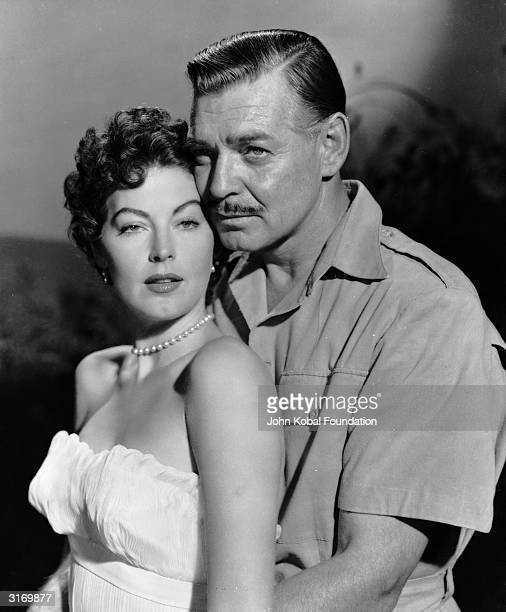 Clark Gable stars with Ava Gardner in 'Mogambo' a tale of romance set in Kenya and directed by John Ford