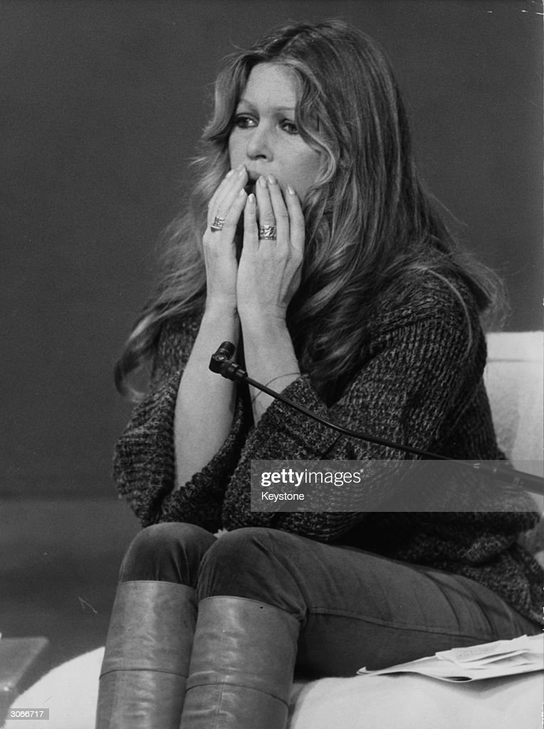 French actress Brigitte Bardot makes an emotional plea on French TV to stop the cruel slaughter of animals.