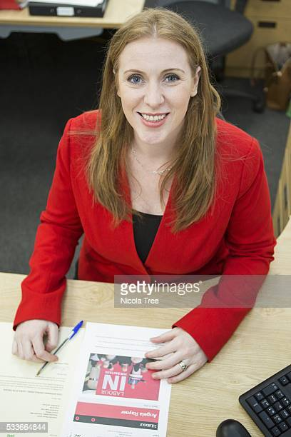 ENGLAND 18th March 2016 Angela Rayner in her constituency office