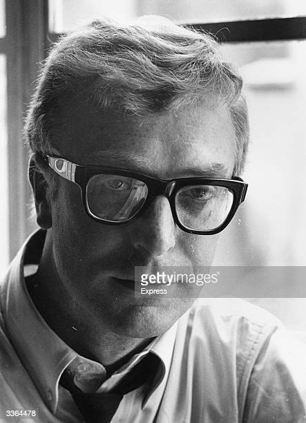 Actor Michael Caine who came to prominence for his roles in 'Zulu' and 'The Ipcress File'