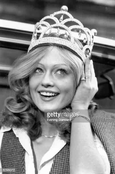 Miss World Mary Stavins winner in 1977