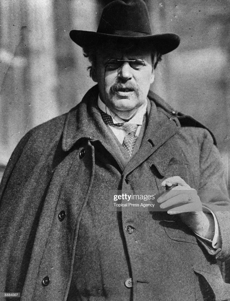 G K Chesterton : Foto jornalística