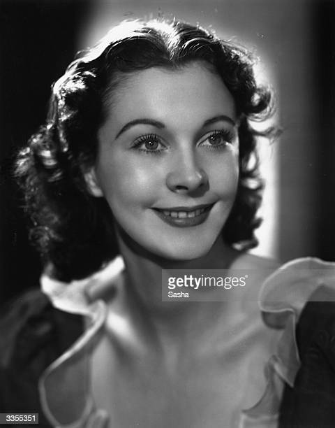 American stage and film actress Vivien Leigh in costume for 'Serena Blandish' at the Gate Theatre in London
