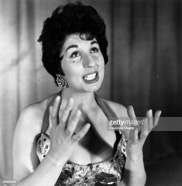 English singer Alma Cogan Original Publication Picture Post 7278 The Girls From Tin Pan Alley pub 1954