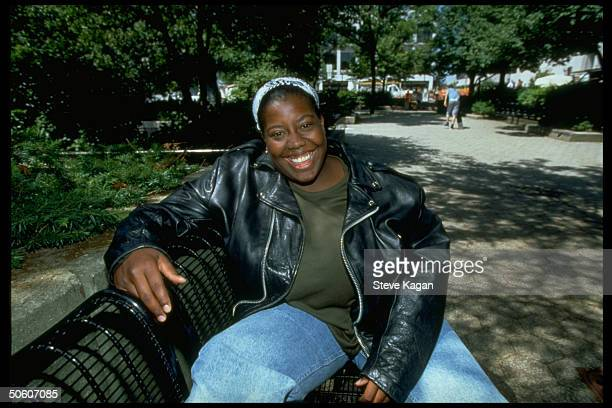 18yrold African American Keshia Thomas who protected unident white supremacist from angry mob at KKK rally prob Ypsilanti MI