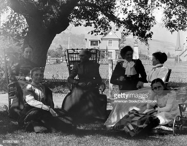 1900s 1890s MATURE WOMEN...