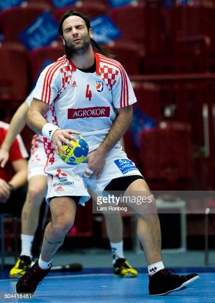 World Championship Malmø Serbia vs Croatia Ivano Balic Kroatien / Croatia Alem Toskic Serbien / Serbia ©Lars Rønbøg / Frontzonesport