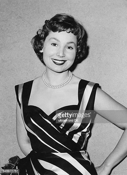 *Sängerin Sopran D Porträt 1959