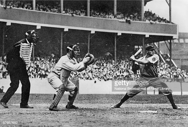 Honus Wagner of the Pittsburgh Pirates bats in a circa 1910s game Wagner played for the Pirates from 190017
