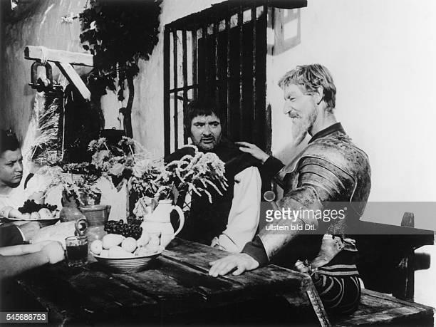 1913Schauspieler A als Don Quichotte zusammen mit RogerCarell in dem Film 'DieAbenteuer des 'Don Quichotte'1964