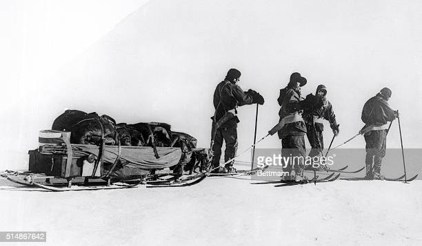 1915The death of Captain Robert Scott and companions returning from the South Pole and the arrival of the Southern party at the pole The last days...