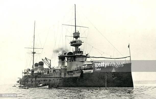 France Navy A Warlike Messanger of peace The Leon Gambetta whose visit to dover ended the rivarly between France and England The Leon Gambetta was a...