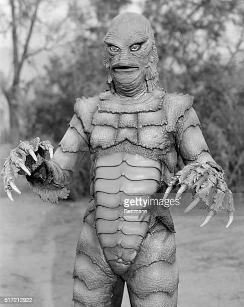 1/9/1954Ricou Browning as the monster Gillman in the movie The Creature From the Black Lagoon