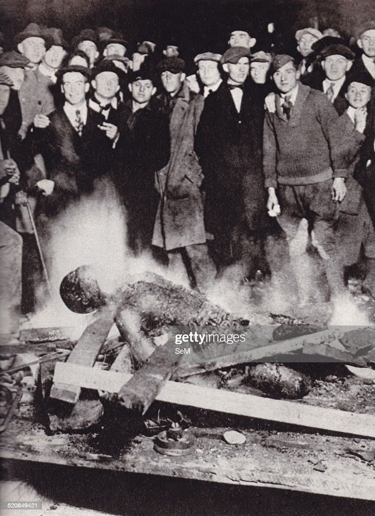 USA 1919 racial riots Omaha lynching of Will Brown : News Photo