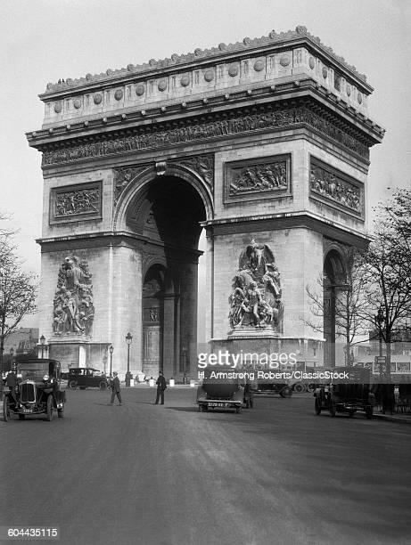 1920s ARC DE TRIOMPHE WITH.