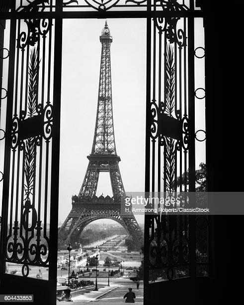 1920s EIFFEL TOWER BUILT.