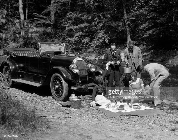 1920s GROUP OF FIVE HAVING...