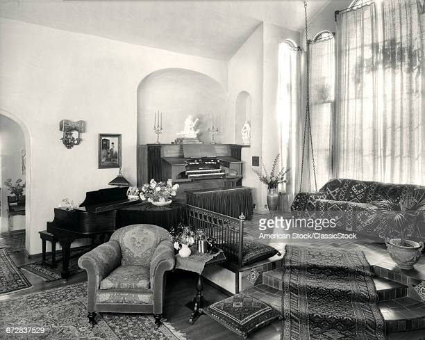 1920s living room stock photos and pictures getty images for Living room ideas 1920s