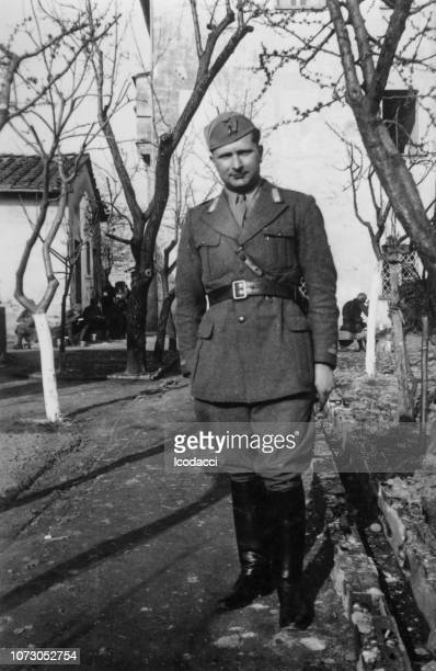 1920s italian soldier portrait