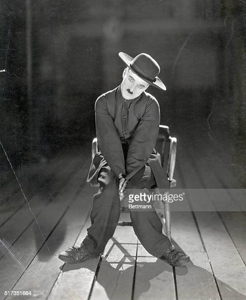 1922Charlie Chaplin depicted alone in the 1923 release of 'The Pilgrim' a silent comedy directed by Chaplin in which he plays an escaped convict...