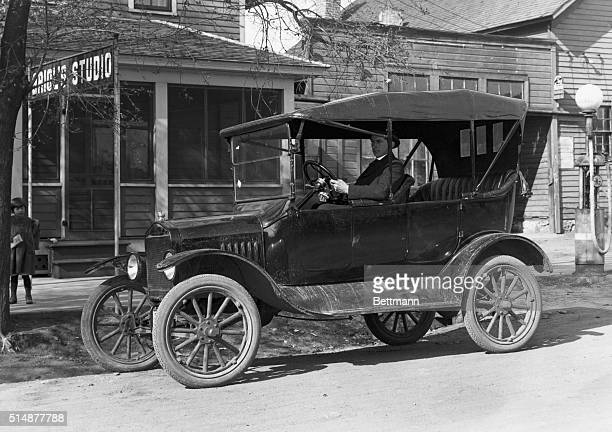 The new automobile Model T Ford Albany Minnesota