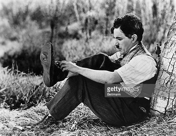 1925Charlie Chaplin in 'Gold Rush' 1925 Movie still