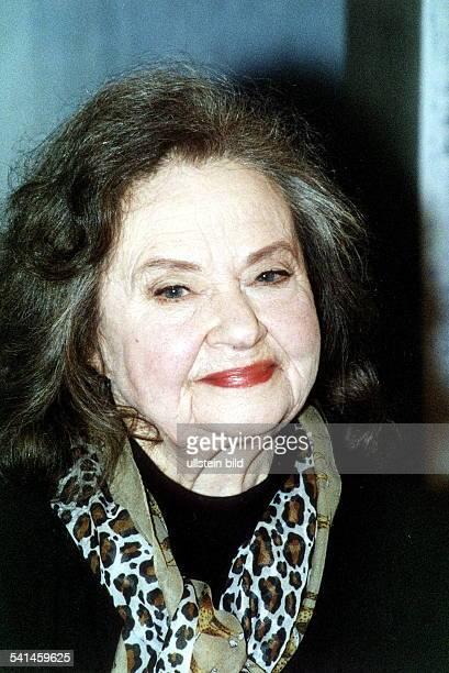 Schauspielerin; DPorträt- Ende der 1990er Jahre