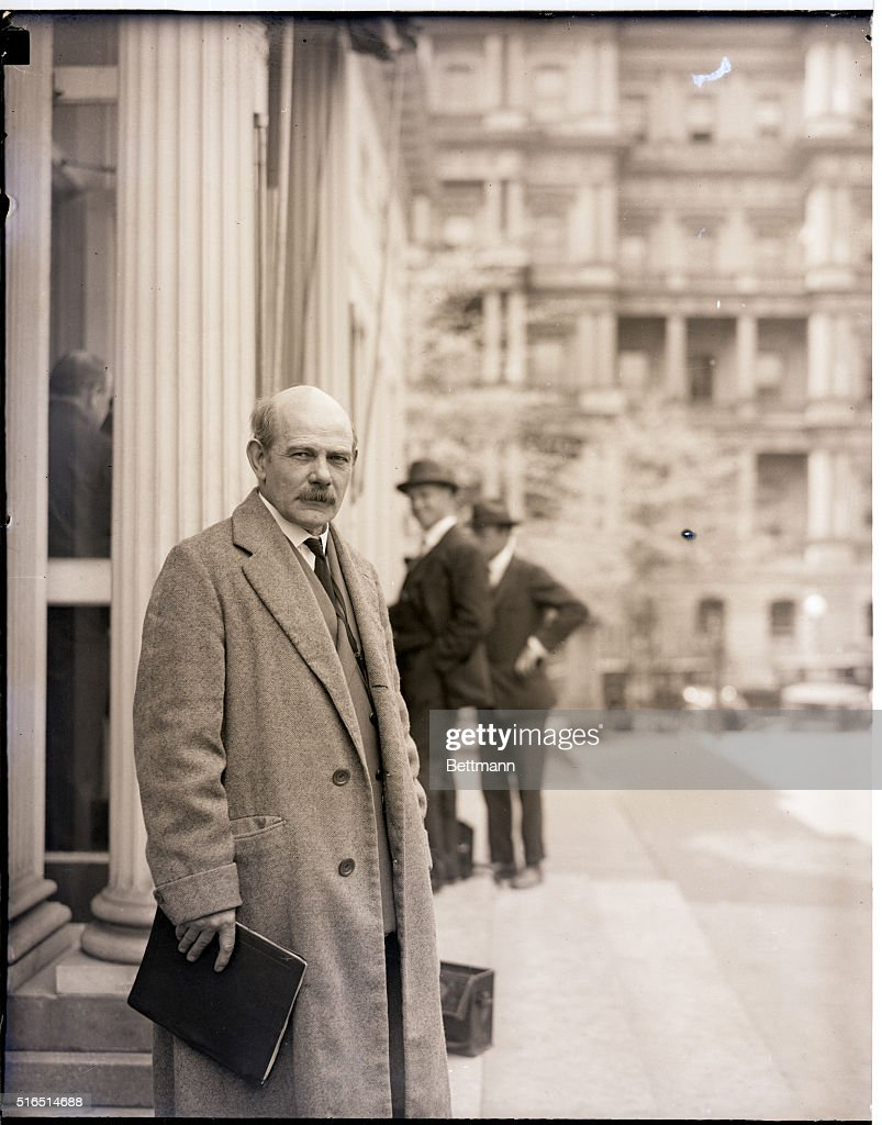 John Gutzon Borglum at White House : News Photo