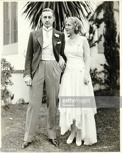 1928Photo shows newlyweds Mr and Mrs John Barrymore