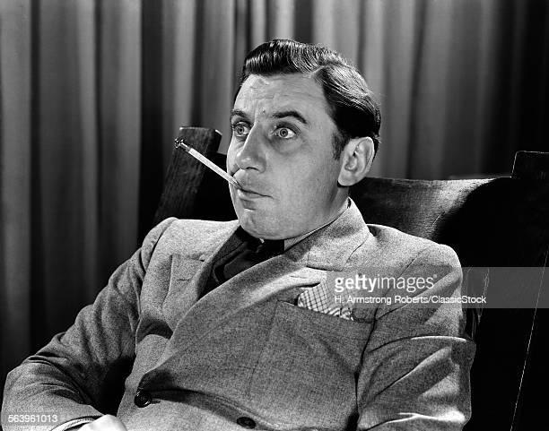 1930s 1940s BUG-EYED MAN...