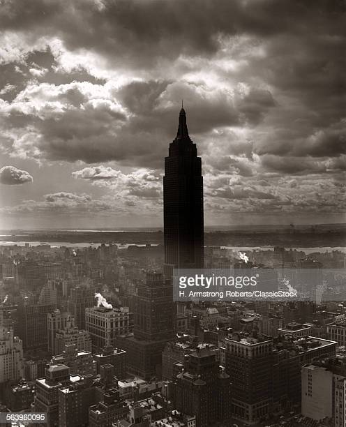 1930s 1940s EMPIRE STATE...