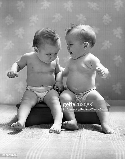 1930s 1940s TWIN BABIES...