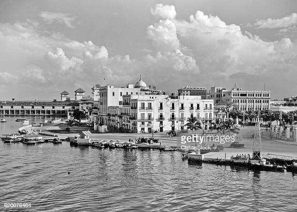 1930s 1940s VIEW FROM THE...