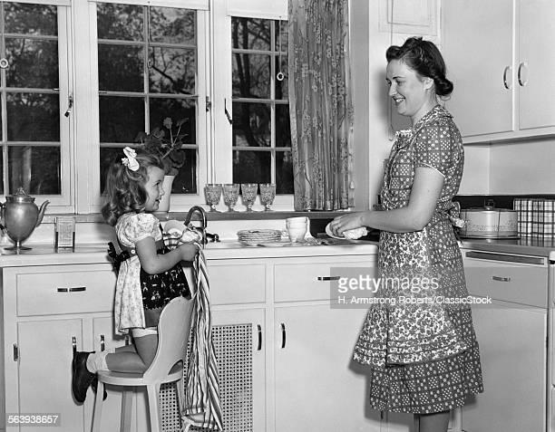 1930s 1940s WOMAN MOTHER...