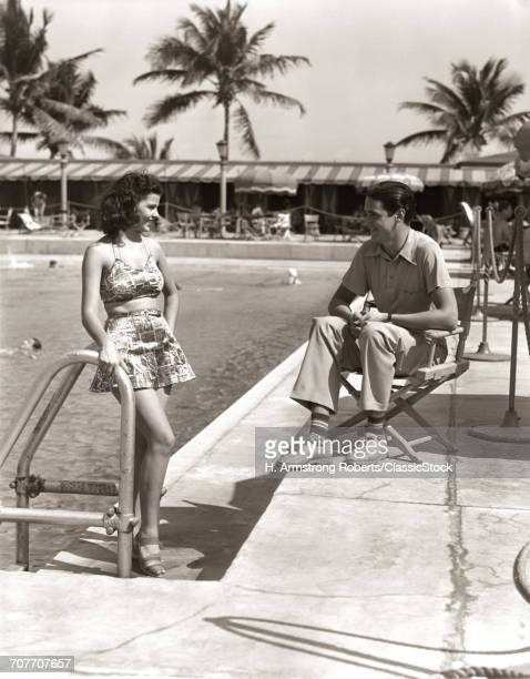 1930s COUPLE TROPICAL...