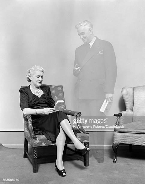 1930s ELDERLY WOMAN...