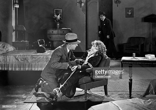 1930s MOVIE STILL OF MAN...