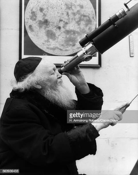 1930s OLD ASTRONOMER WHITE...